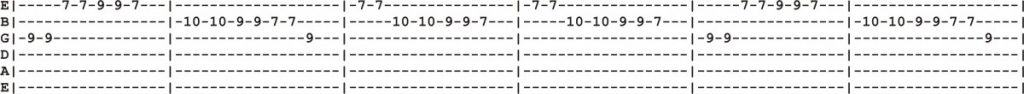 12 String Guitar Tab 3