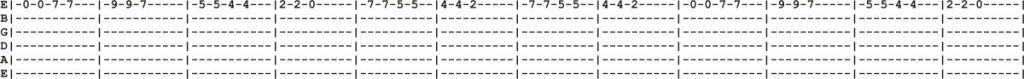 12 string Guitar Tab 2