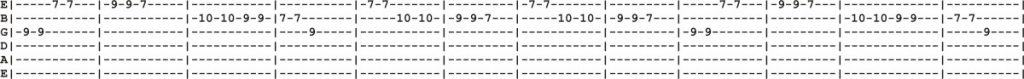 12 String Guitar Tab 4