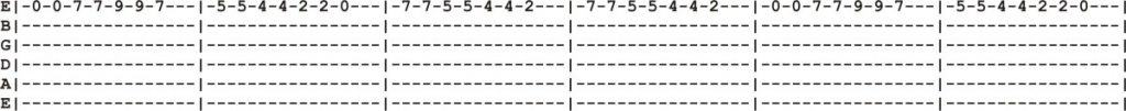 12 String Guitar Tab 1