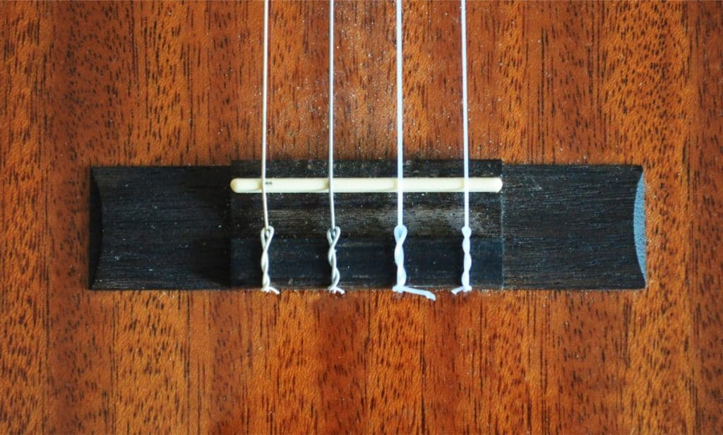 Step 10; the finished string