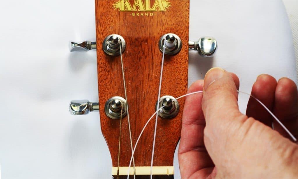 Using a medium amount of string